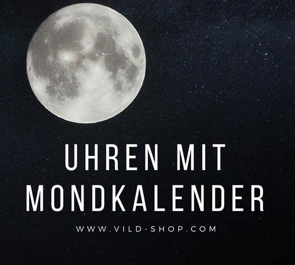 Uhren mit Mondphase