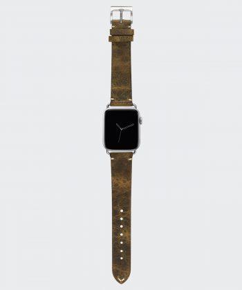 Valnot Brown Wildleder Armband für die Apple Watch