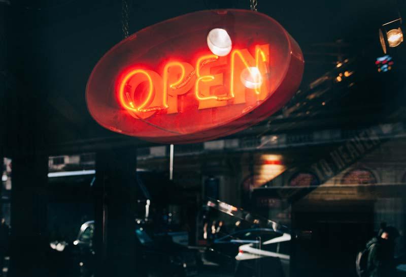 Neon Shop Schrift vild Hamburg